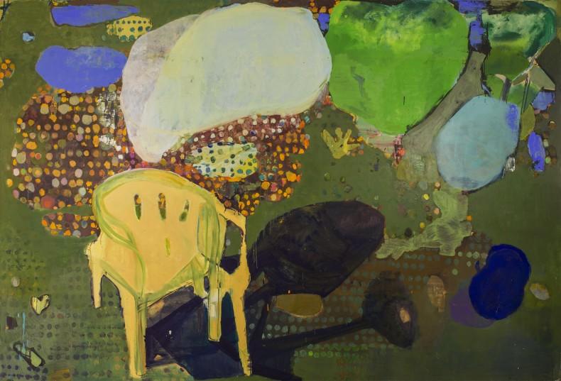 Cristina Canale Nuvens e sombras, 2018 tinta óleo sobre tela 200 x 300 cm