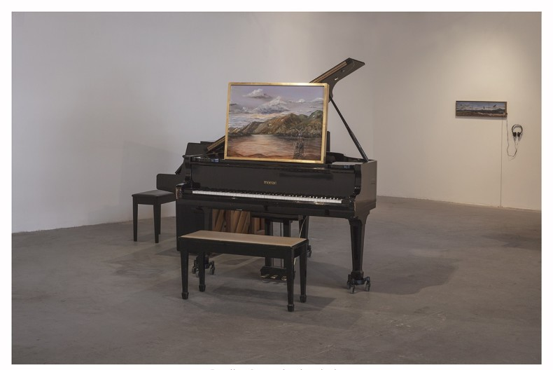 PianoPArtirturas, 2017 impressão inkjet em papel Museumpaper 35 x 50 cm