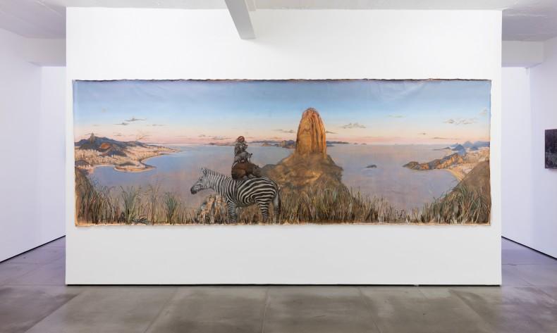 alberto baraya: estudios comparados de paisaje -- vista de exposição -- galeria nara roesler | rio de janeiro 2018 -- foto © Pat Kilgore, cortesia do artista e Galeria Nara Roesler