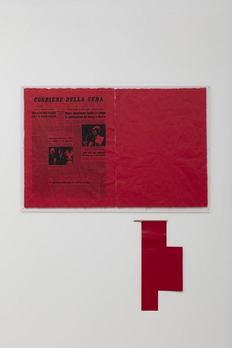 Antonio Dias Ta Tze Bao, 1972 [detalhe] foto © Everton Ballardin -- cortesia do artista e Galeria Nara Roesler