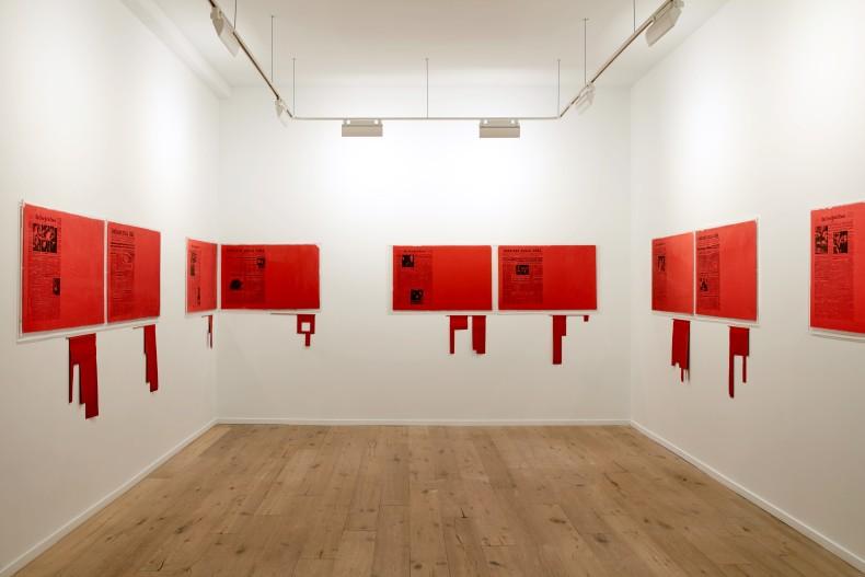antonio dias: ta tze bao -- vista da exposição -- galeria nara roesler | new york, 2019 -- foto ©...