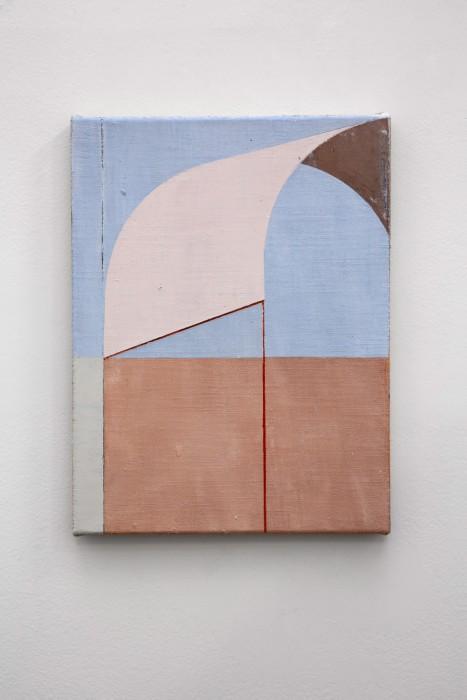Fábio Miguez Abóboda, 2019 óleo e cera sobre linho 35 x 27 cm