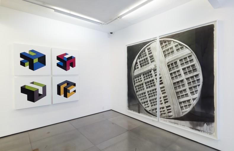 Arquiteturas do Imaginário, Galeria Nara Roesler | Rio de Janeiro, 2019 © Pat Kilgore, cortesia, do artista e Galeria Nara...