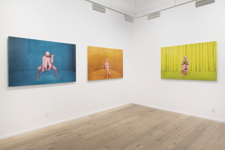 berna reale: while you laugh -- vista da exposição -- galeria nara roesler | new york, 2019 -- foto ©...