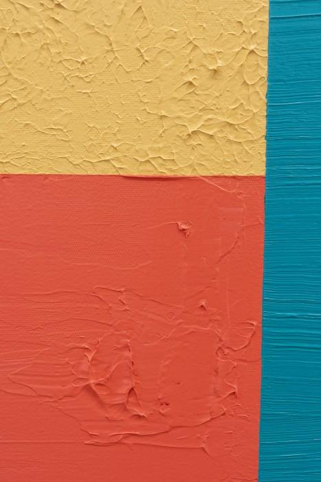 Alexandre Arrechea Paintings and conflict 4, 2019 [detalhe] acrílica sobre tela 180 x 122 x 5,5 cm