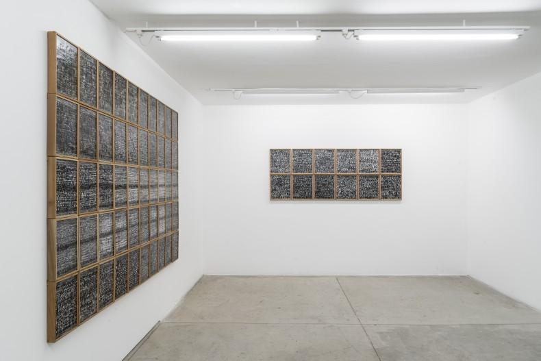 marcelo silveira: compacto com pacto -- vista da exposição -- galeria nara roesler | são paulo, 2019 -- foto ©...