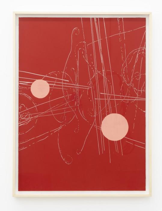 Carlito Carvalhosa Sem título (P23/15), 2015/2019 tinta óleo sobre alumínio espelhado 122 x 90 cm
