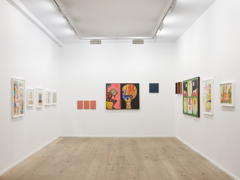 Sérgio Sister: Then and Now, Galeria Nara Roesler | New york, 2019 – vista da exposição. Foto © Pierce Harrison...
