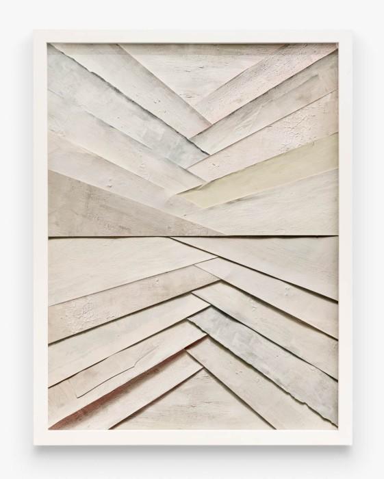 Vik Muniz Superfícies: Leque, a partir de Waldemar Cordeiro, 2019 técnica mista 142,2 x 106,7 cm