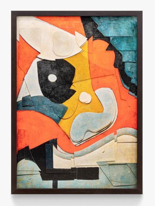 Vik Muniz Superfícies: Sem título, a partir de Ad Reinhardt, 2019 técnica mista 152,7 x 106,7 cm
