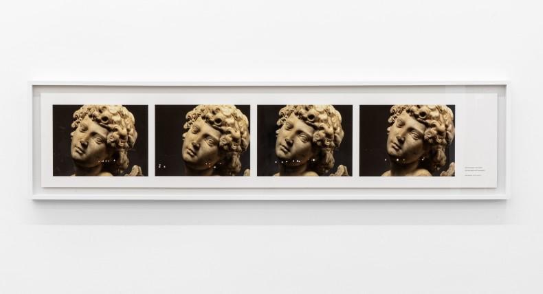 Milton Machado Michelangelo with headlights, 2014 jato de tinta sobre papel algodão 42 x 177 cm edição de 3 +...