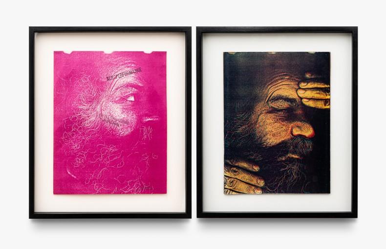 Paulo Bruscky Xeroperformance, 1988 fotocópia em papel 2 partes de 32,5 x 21,6 cm cada