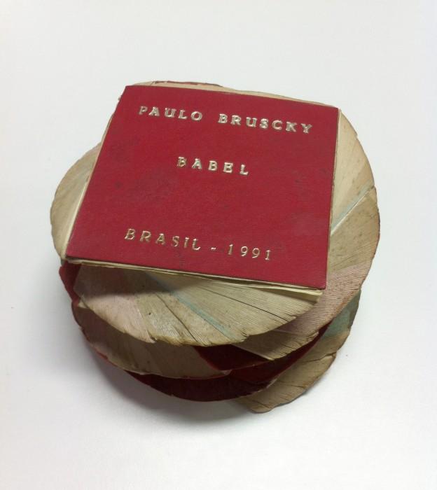 paulo bruscky, babel, 1991