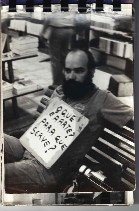 paulo bruscky, o que é arte? para que serve?, 1978