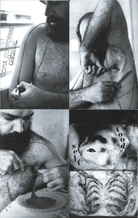 paulo bruscky, alimentAção, 1978