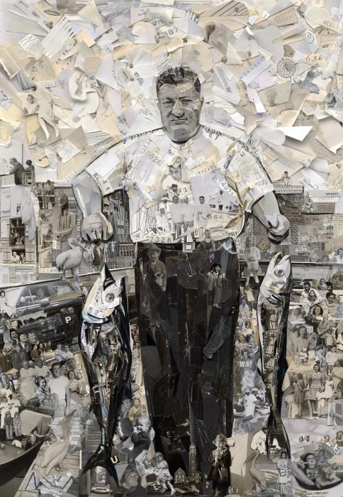 vik muniz, album: pap's and his catch, 2014