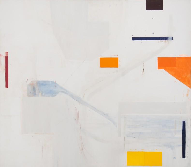 sem título, 2001 óleo e cera sobre tela 200 x 230 cm