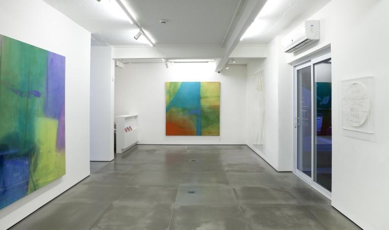 vista da exposição -- galeria nara roesler rj, 2016