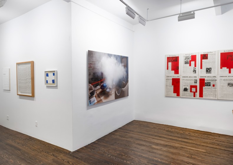 vista da exposição galeria nara roesler, nova york, 2016