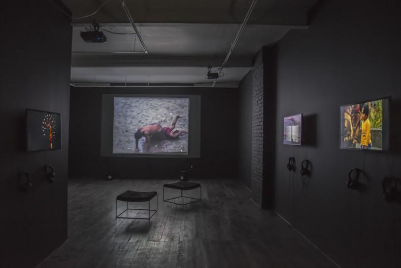 vista da exposição galeria nara roesler ny, 2016