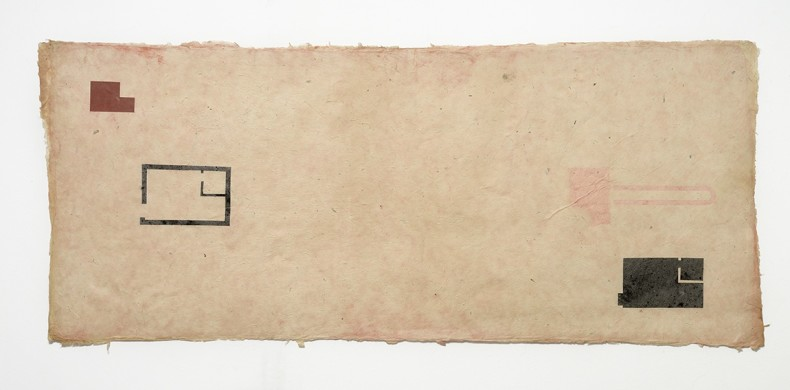 antonio dias martelando muros, 1977/78