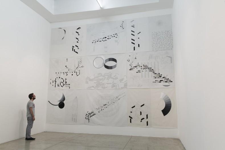 vista da exposição -- galeria nara roesler sp, 2016