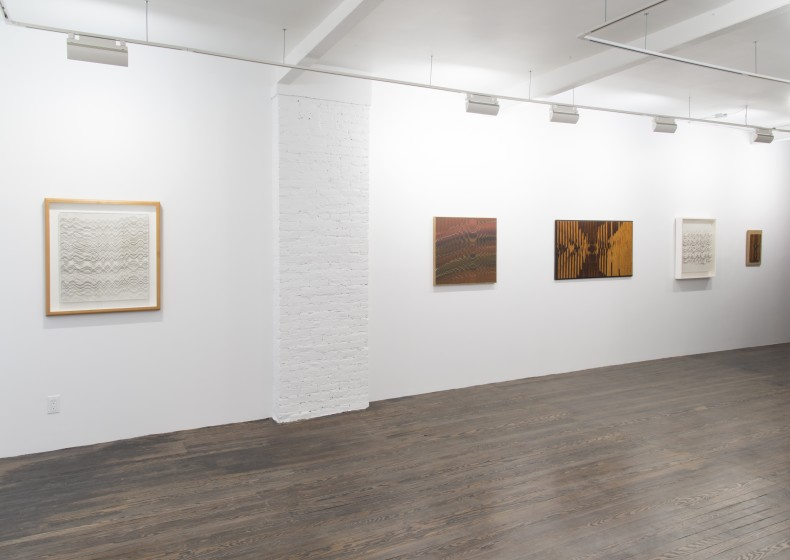 vista da exposição, galeria nara roesler ny, 2016