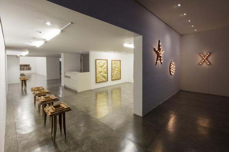 vista da exposição -- galeria nara roesler são paulo, 2016
