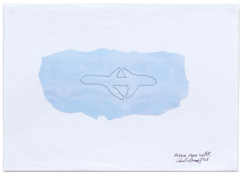 Paulo Bruscky Poema para voAR, 2005