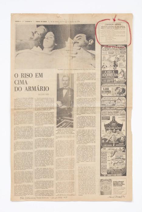 Paulo Bruscky Arte classificada / Composição aurorial Arte Especial, 1976