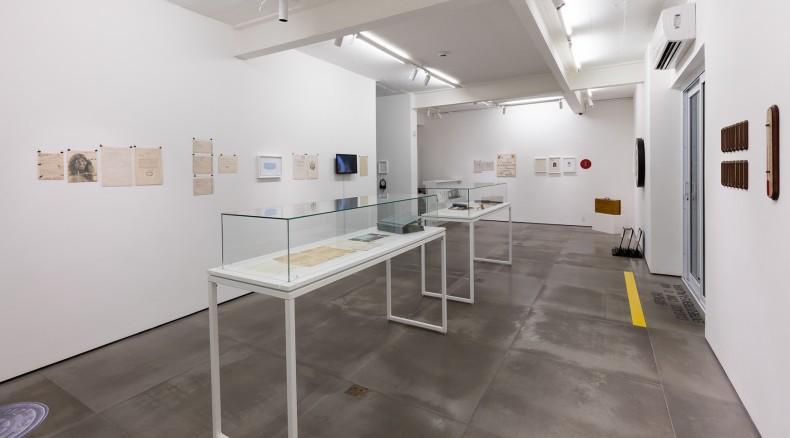 vista da exposição -- galeria nara roesler | rio de janeiro 2016