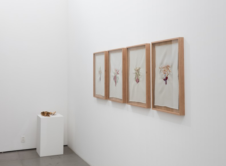 vista da exposição -- galeria nara roesler rio de janeiro, 2016