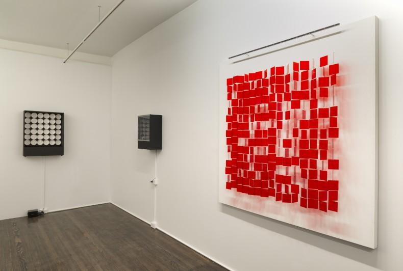 vista da exposição galeria nara roesler new york 2016
