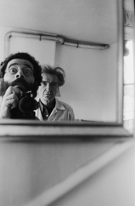Vasco Szinetar Emil Cioran, da série Frente al espejo, Paris, 1982 fotografia 30 x 19,92 cm