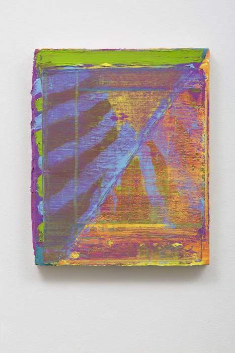 Bruno Dunley Sem título, 2014 tinta óleo sobre tela 30 x 24 cm