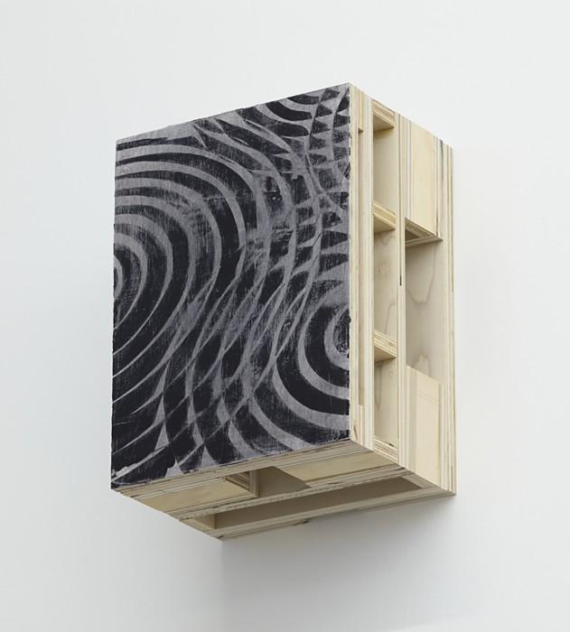 Alexandre Arrechea Fragment series, 2016 guache sobre madeira 40 x 30 x 21 cm