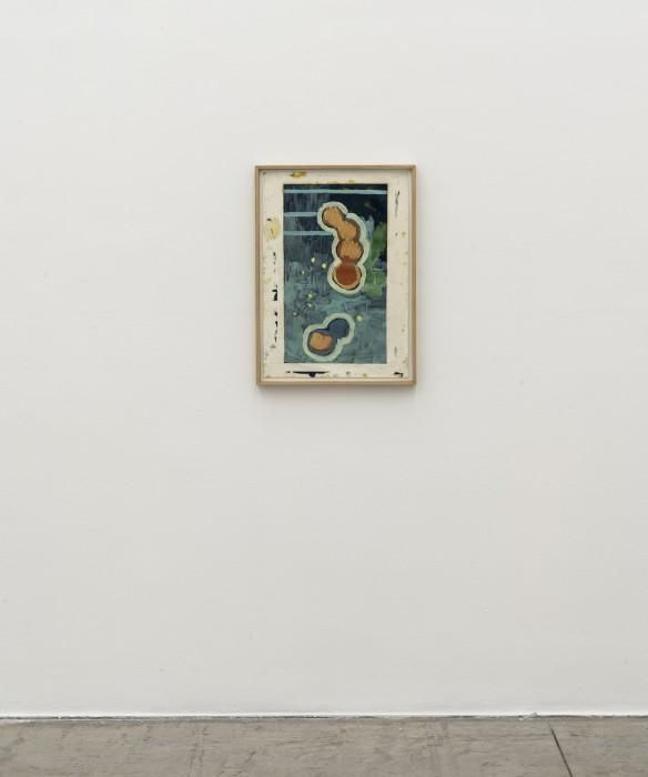 Bruno Dunley Sem título, 2016 tinta óleo sobre papel 59,4 x 42 cm