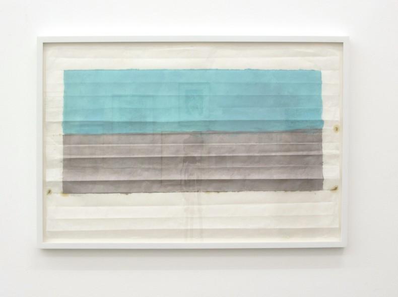 Sérgio Sister Sem título, 2018 óleo sobre papel kozo 63 x 98 cm