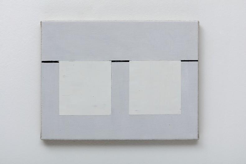 Fabio Miguez Sem título, 2018 tinta óleo e cera sobre tela 28 x 35 cm