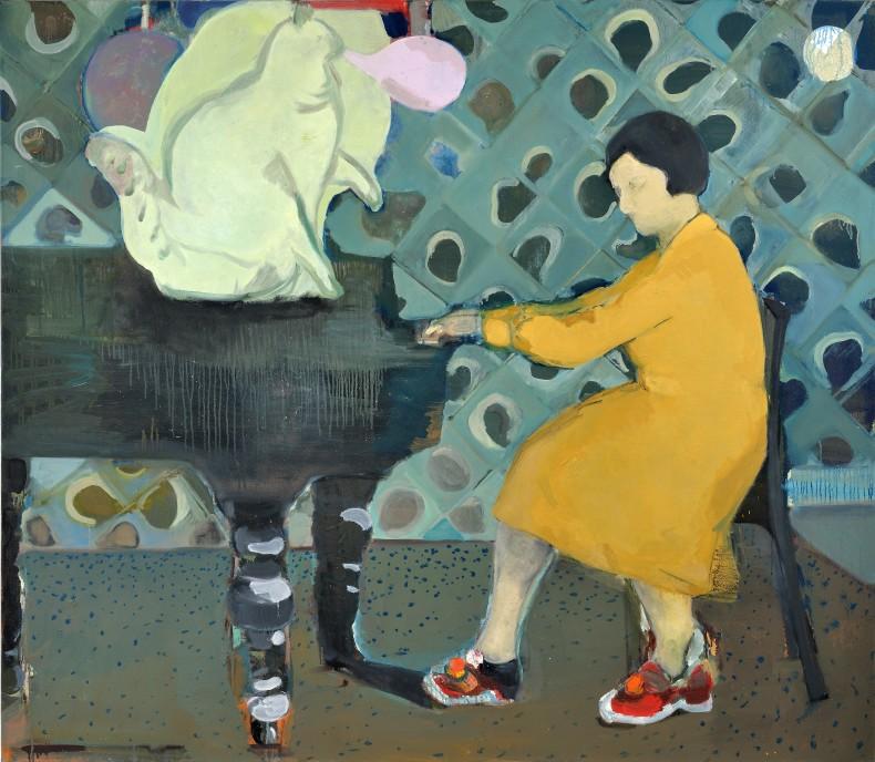 Cristina Canale Delírio, 2010 / 2011 acrílica, óleo e bastão de tinta óleo sobre tela 175 x 200 cm