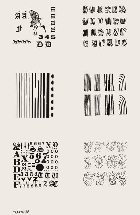 León Ferrari Traduções, 1979 xerografia sobre papel 31 x 21,5 cm