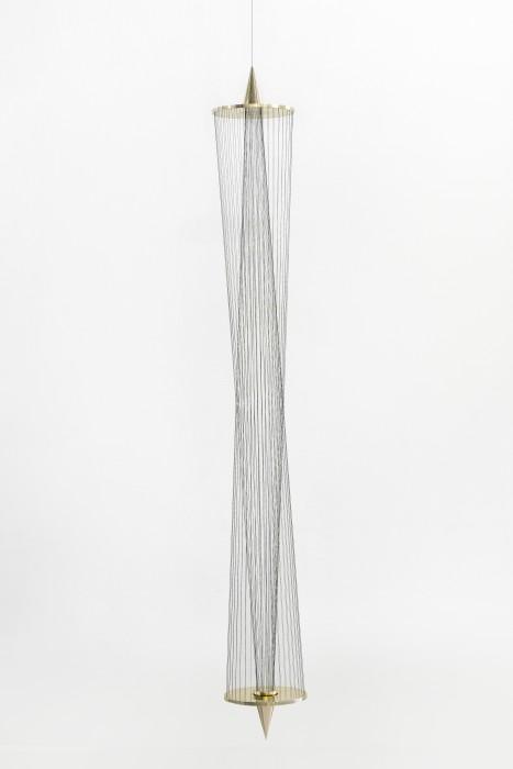 Pablo, 2019 latão, linhas de multifilamento verde e cabo de aço edição de 5 + 2 PA 200 x Ø...