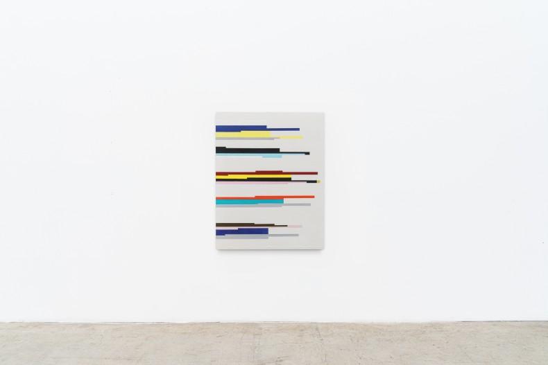 Fabio Miguez Sem título, 2020 tinta óleo e cera sobre linho 89 x 70 cm