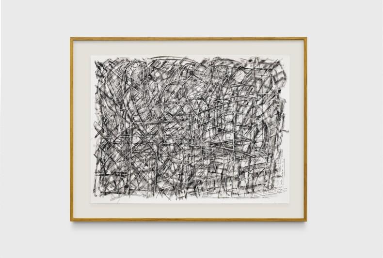 Milton Machado, Desenho que ficou de aparecer, 2019 tinta acrílica sobre papel 42 x 56 cm
