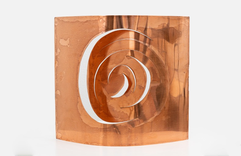 Plano Volume I, 1959 Lâmina de cobre recortada e desdobrada 30 x 22 x 12 cm | 11.8 x 8.7 x 4.7 in