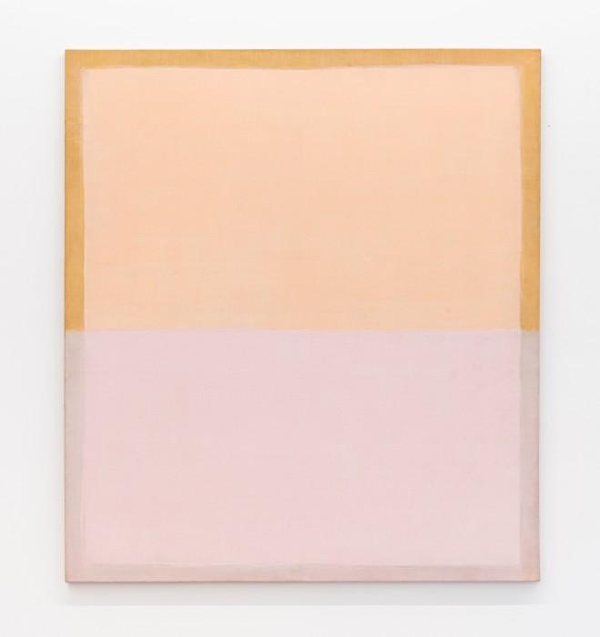 Pintura de horizonte, 1998 tinta acrílica sobre tela 141,5 x 158,8 x 3,2 cm | 55.7 x 62.5 x 1.3 in