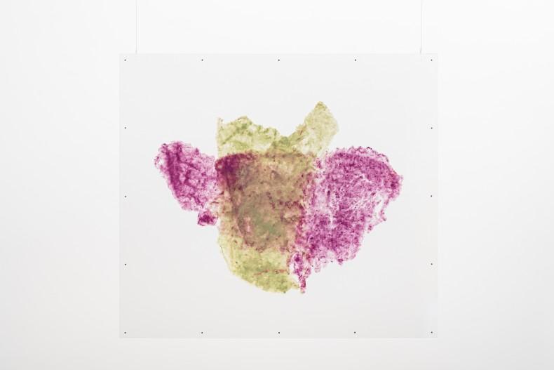Fiapo polpa de linha e algodão tingido 49 x 57 cm | 19.3 x 22.4 in