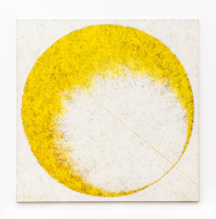 Tomie Ohtake Sem título, 1996 tinta óleo sobre tela 200 x 200 cm