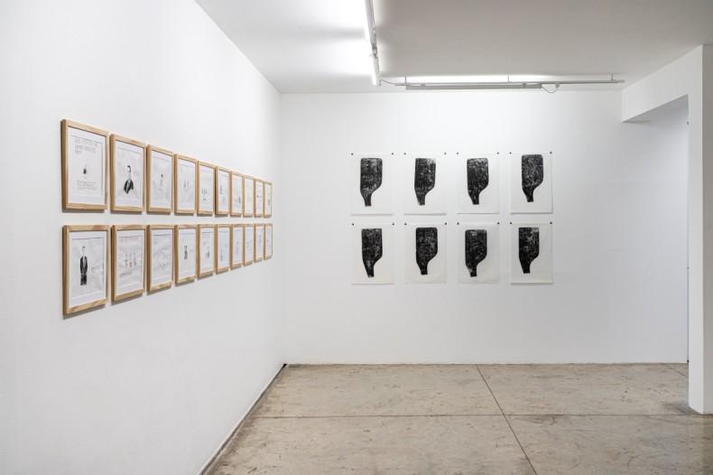 vista da exposição nara roesler | são paulo, 2021 foto © erika mayumi