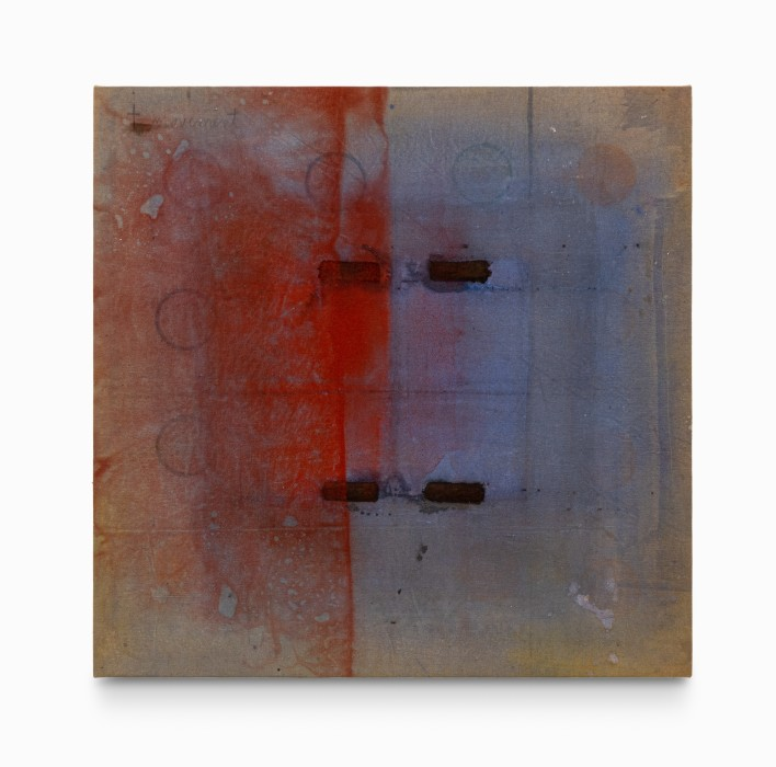 Karin Lambrecht Sem título , 1993 pigmentos em meio acrílico sobre tela 83.6 x 84.7 x 3 cm